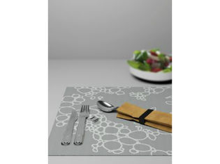 Italesse Placemat Tabletti, Musta Kupla