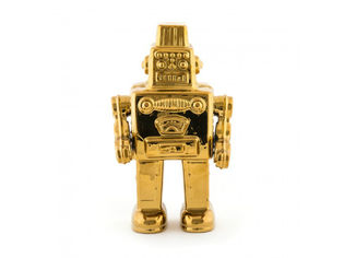 Seletti Limited Gold Edition My Robot -veistos